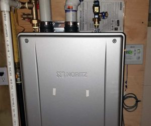 Noritz On Demand Hot Water Tank   Tinman Furnace & AC Experts   Calgary Heating & Air Conditioning