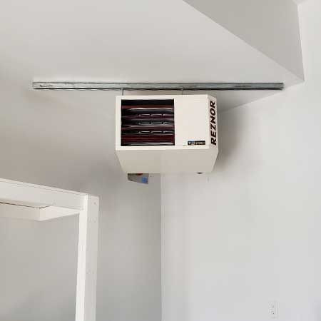 Rezonr Garage Heater | Tinman Furnace & AC Experts | Calgary Heating & Air Conditioning